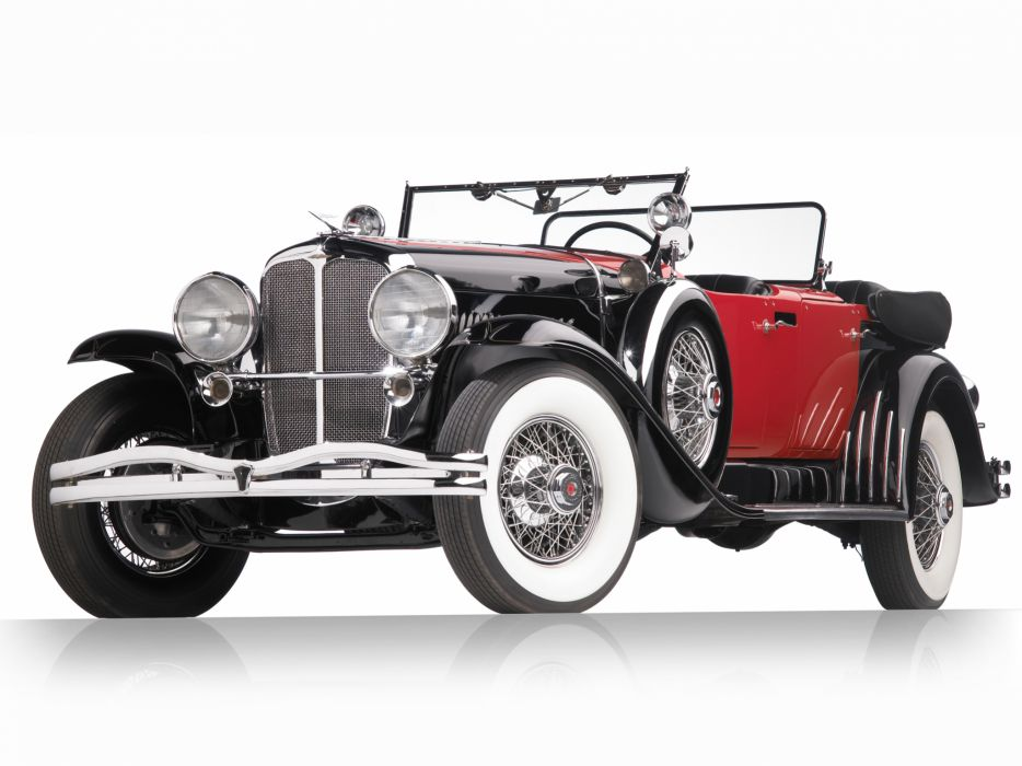 1930 Duesenberg Model-J 487-2336 Dual Cowl Phaeton LWB LeBaron convertible luxury retro wheel       hd wallpaper