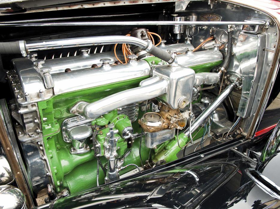 1930 Duesenberg Model-J 487-2336 Dual Cowl Phaeton LWB LeBaron convertible luxury retro engine        g wallpaper