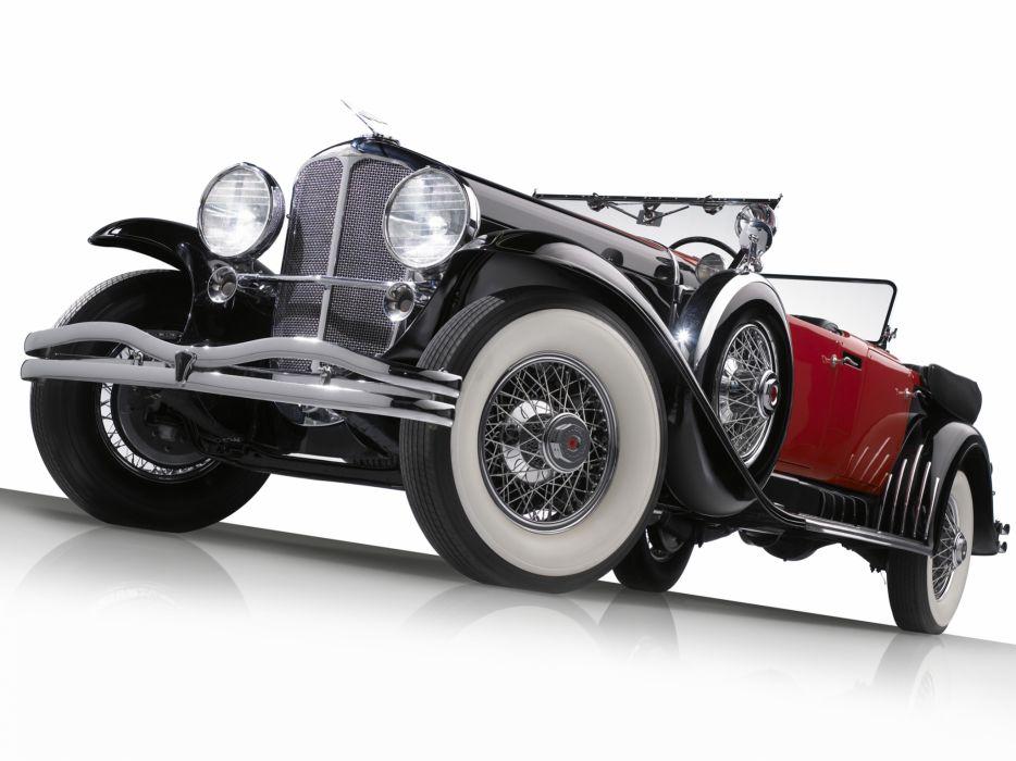 1930 Duesenberg Model-J 487-2336 Dual Cowl Phaeton LWB LeBaron convertible luxury retro wheel      f wallpaper