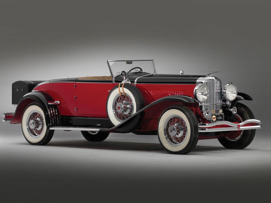 1931 Duesenberg Model-J 395-2414 Convertible Coupe SWB Murphy luxury retro wallpaper