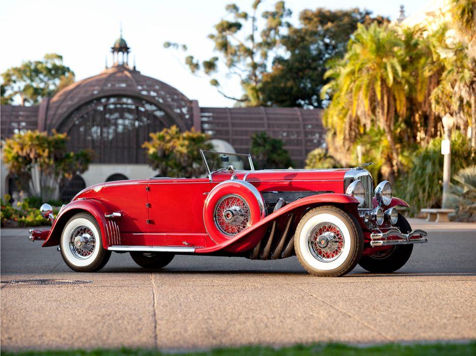 1932 Duesenberg Model-J 284-2310 Convertible Coupe SWB Murphy luxury retro   f wallpaper