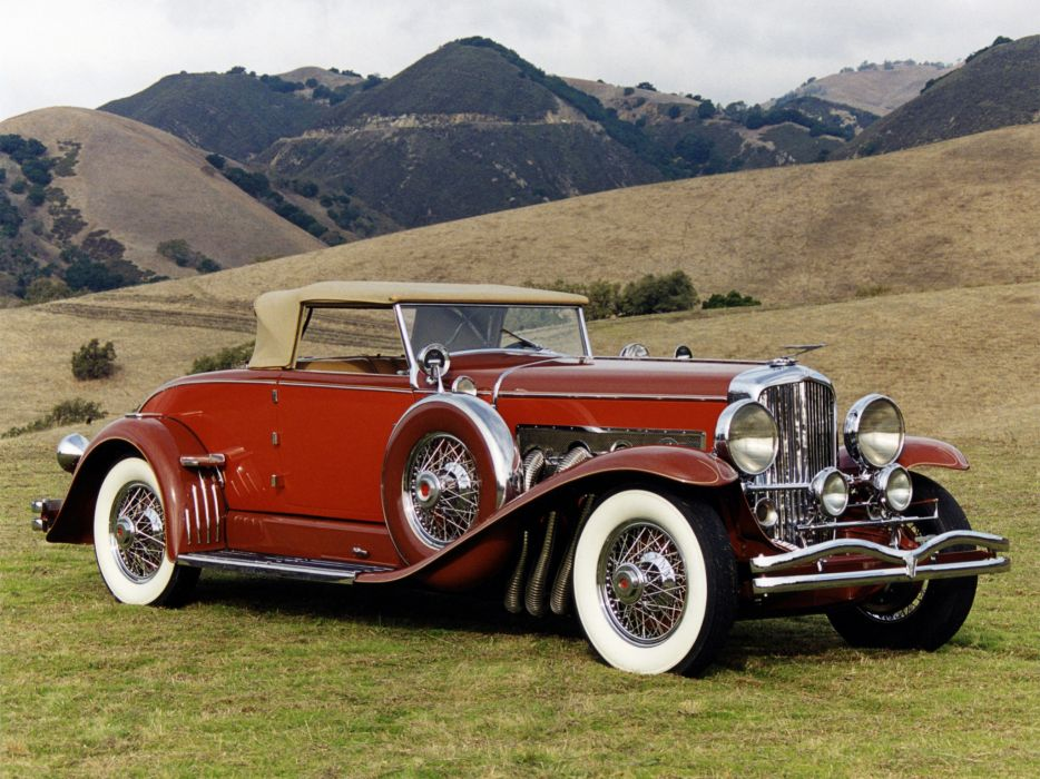 1932 Duesenberg Model-J 284-2310 Convertible Coupe SWB Murphy luxury retro   d wallpaper