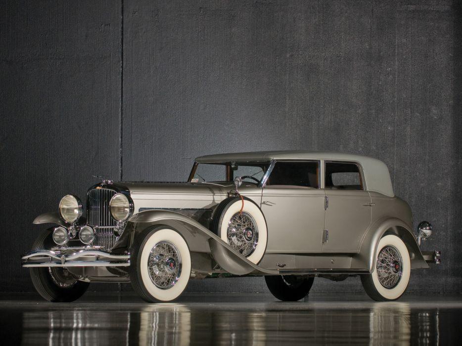 1934 Duesenberg Model-J 546-2574 Torpedo Berline LWB Rollston luxury retro wallpaper