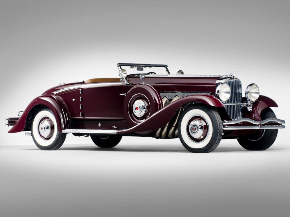 1935 Duesenberg Model-J 530-2563 Convertible Coupe LaGrande luxury retro  g wallpaper