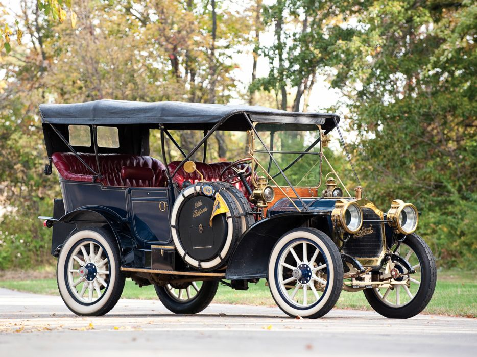 1908 Packard Model-30 Touring luxury retro wallpaper