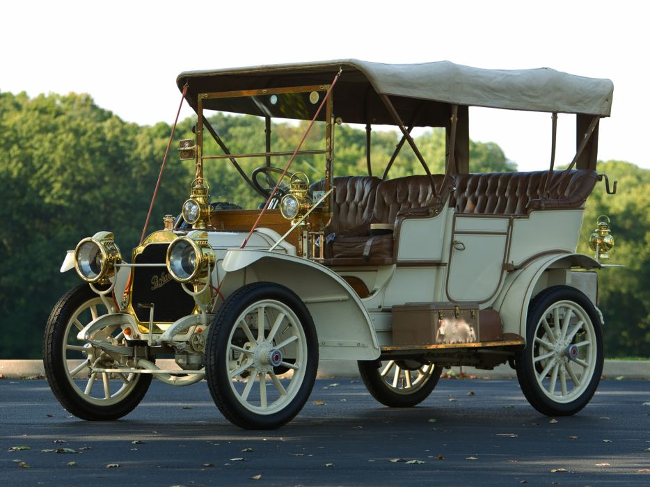 1909 Packard Model-18 Touring luxury retro   h wallpaper