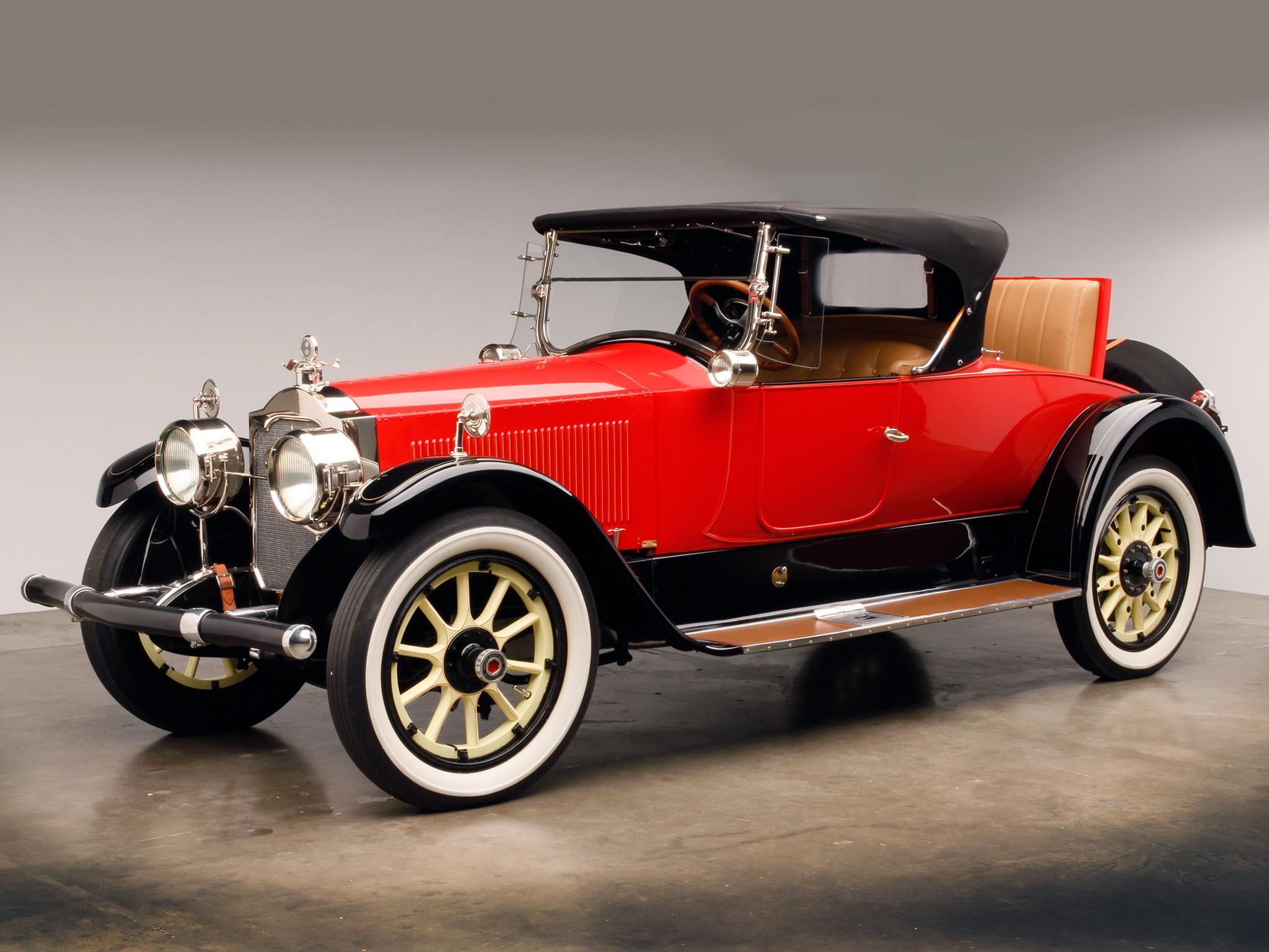 1920 Car: 1920 Packard Twin Six Runabout 3-35 Luxury Retro Wallpaper