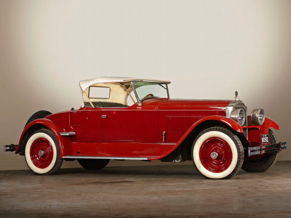 1924 Packard Single Eight Runabout 136-234 luxury retro wallpaper