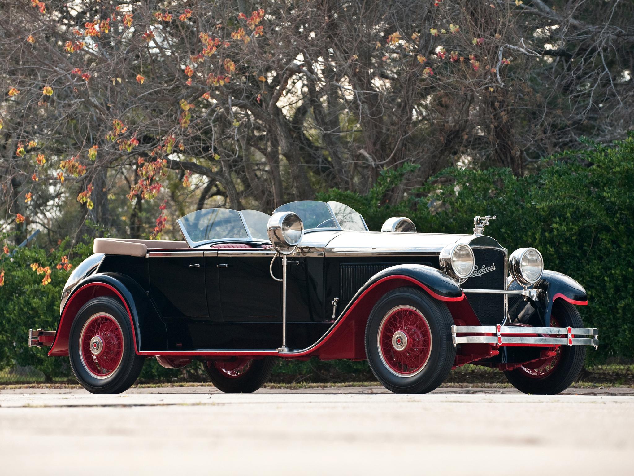 1927 Packard Custom Eight Torpedo Phaeton Luxury Retro