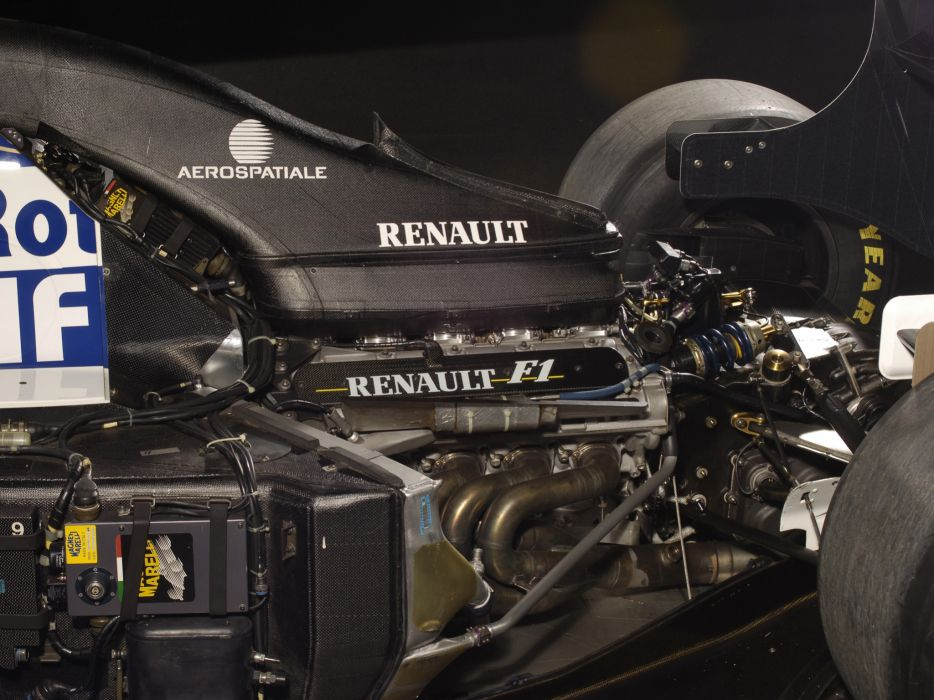 1994 Williams FW16B formula one f-1 race racing renault engine wallpaper