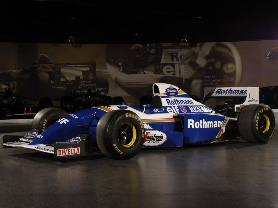 1994 Williams FW16B formula one f-1 race racing   fg wallpaper