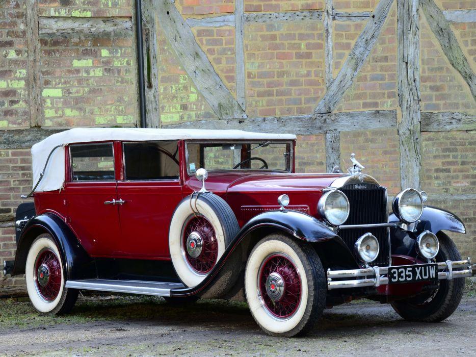 1931 Packard Standard Eight Convertible Sedan 833-483 luxury retro  f wallpaper