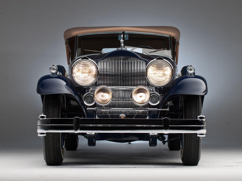 1932 Packard Individual Custom Eight Sport Phaeton Dietrich 904-2069 luxury retro    j wallpaper