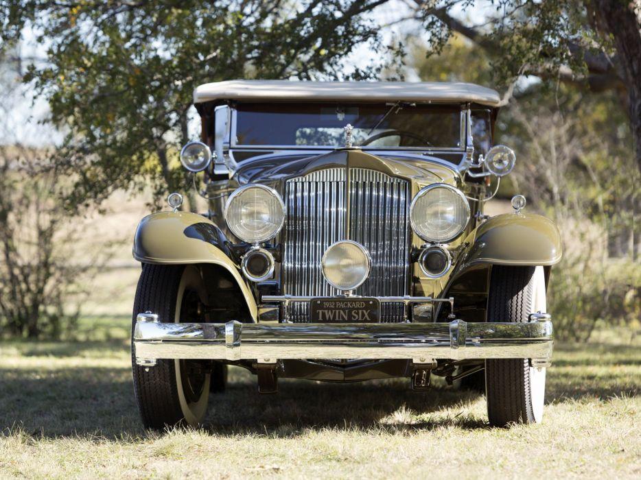 1932 Packard Twin Six Sport Phaeton 905-581 luxury retro   hj wallpaper