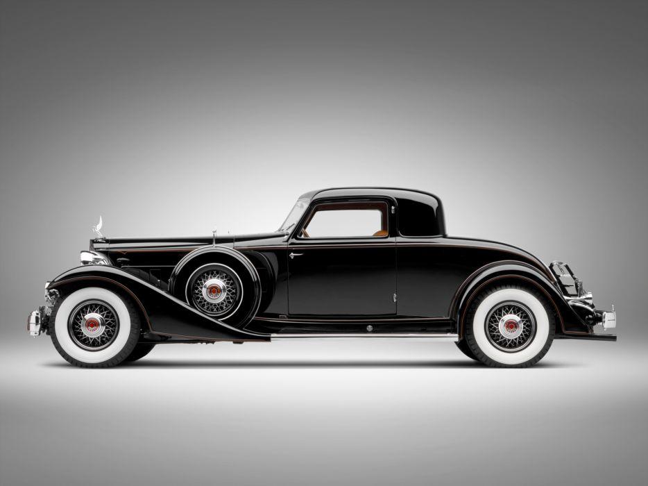 1933 Packard Custom Twelve Coupe Dietrich 1006-3068 luxury retro   h wallpaper