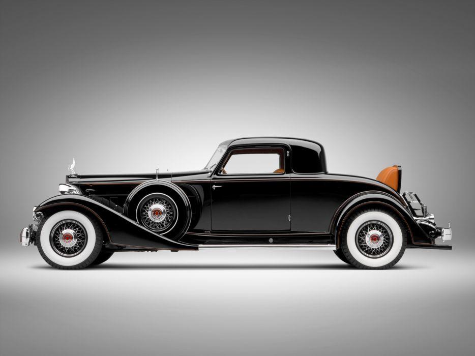 1933 Packard Custom Twelve Coupe Dietrich 1006-3068 luxury retro   g wallpaper