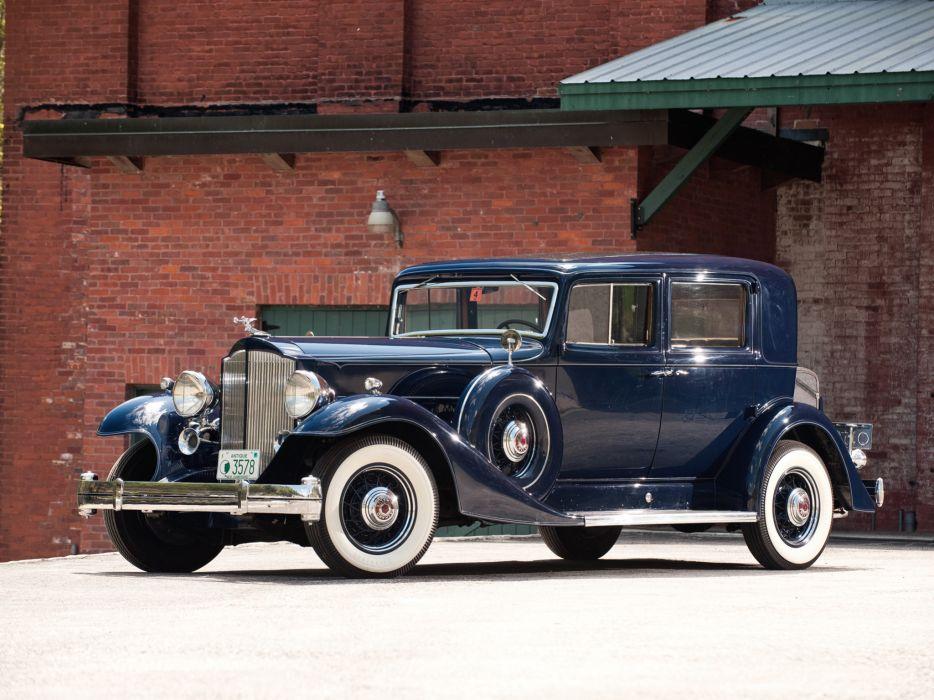 1933 Packard Twelve Club Sedan 1005-636 luxury retro    gh wallpaper