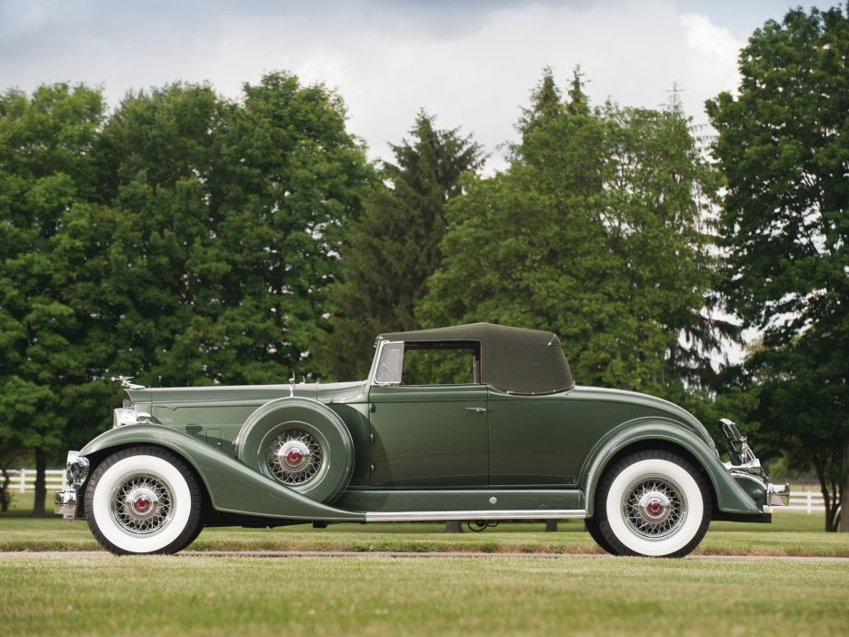 1933 Packard Twelve Coupe Roadster 1005-639 luxury retro   gd wallpaper