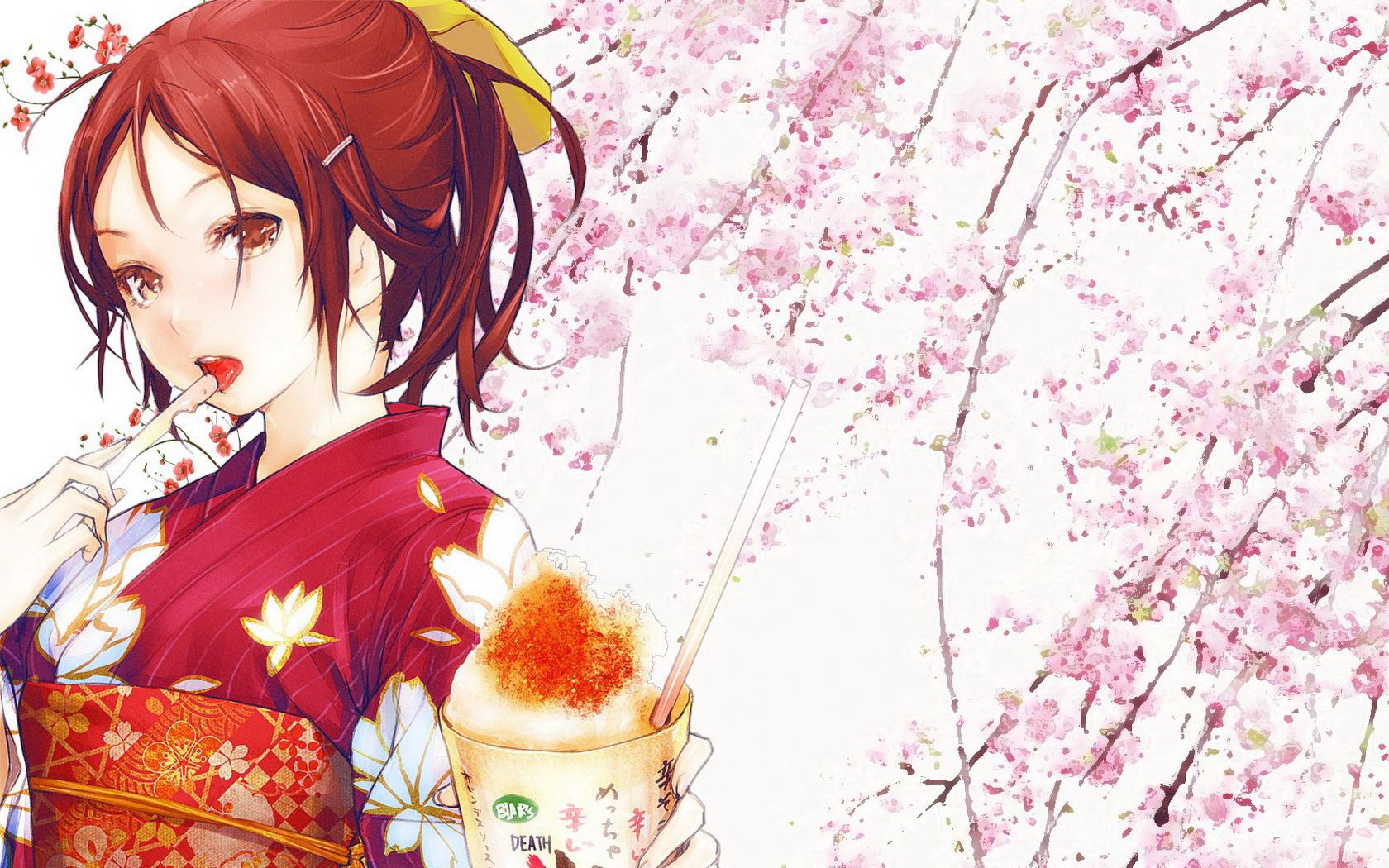 Image Result For Anime Wallpaper Kimono