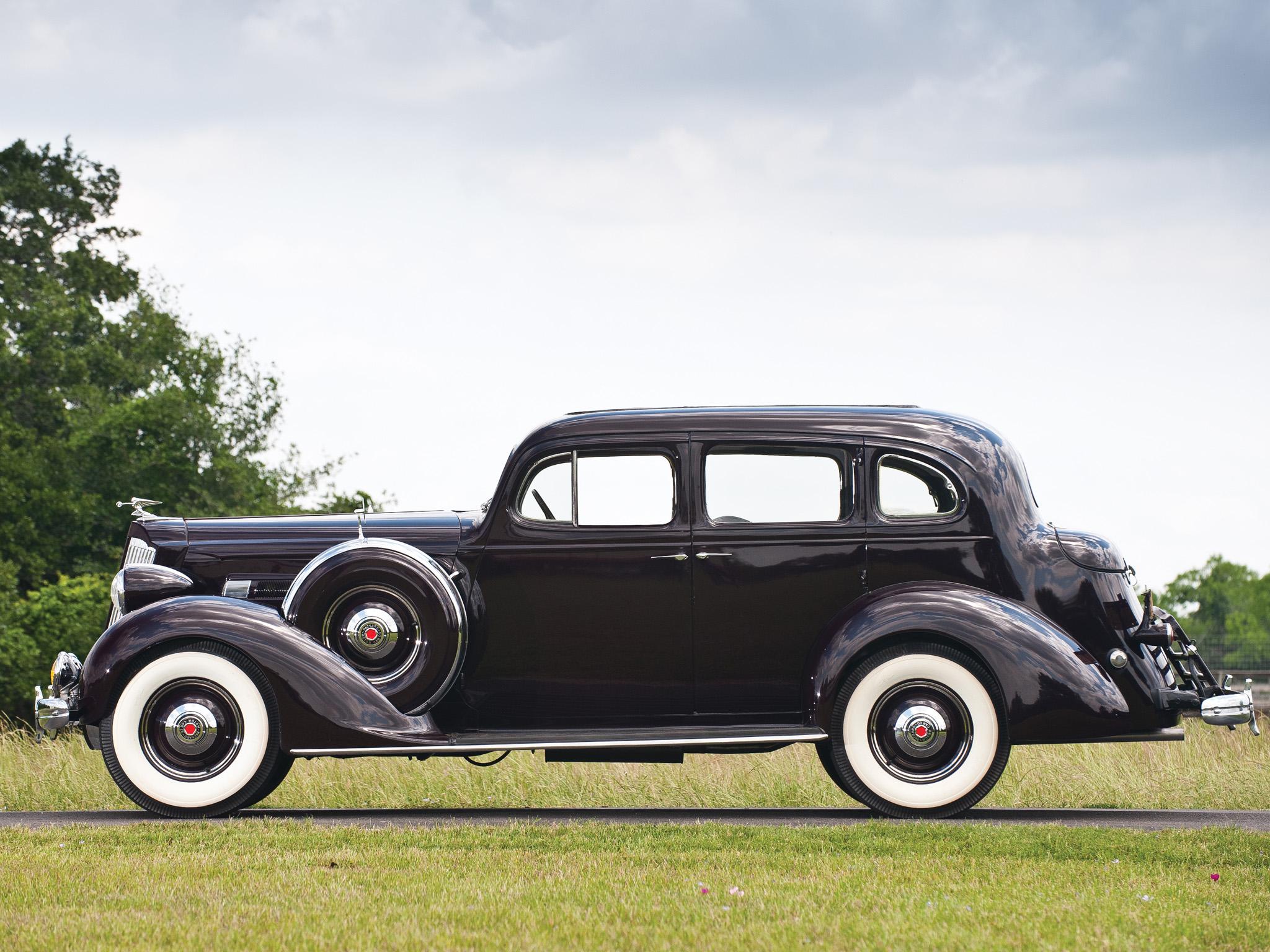 1936 Packard 120 Sedan Retro G Wallpaper 2048x1536