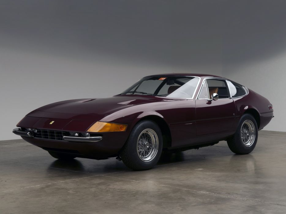 1971 Ferrari 365 GTB-4 Daytona US-spec supercar supercars    g wallpaper