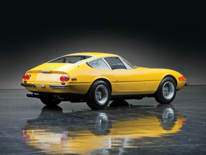 1971 Ferrari 365 GTB-4 Daytona US-spec supercar supercars h wallpaper