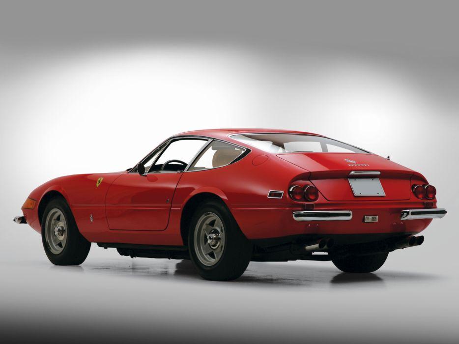 1971 Ferrari 365 GTB-4 Daytona US-spec supercar supercars   f wallpaper