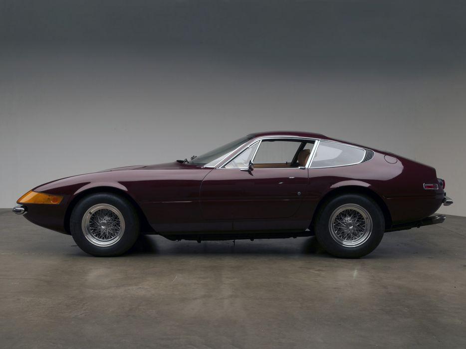 1971 Ferrari 365 GTB-4 Daytona US-spec supercar supercars  fe wallpaper