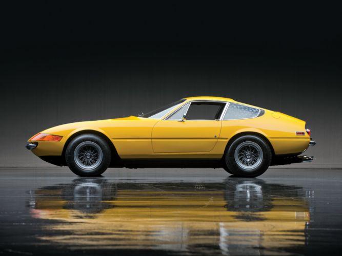 1971 Ferrari 365 GTB-4 Daytona US-spec supercar supercars gs wallpaper