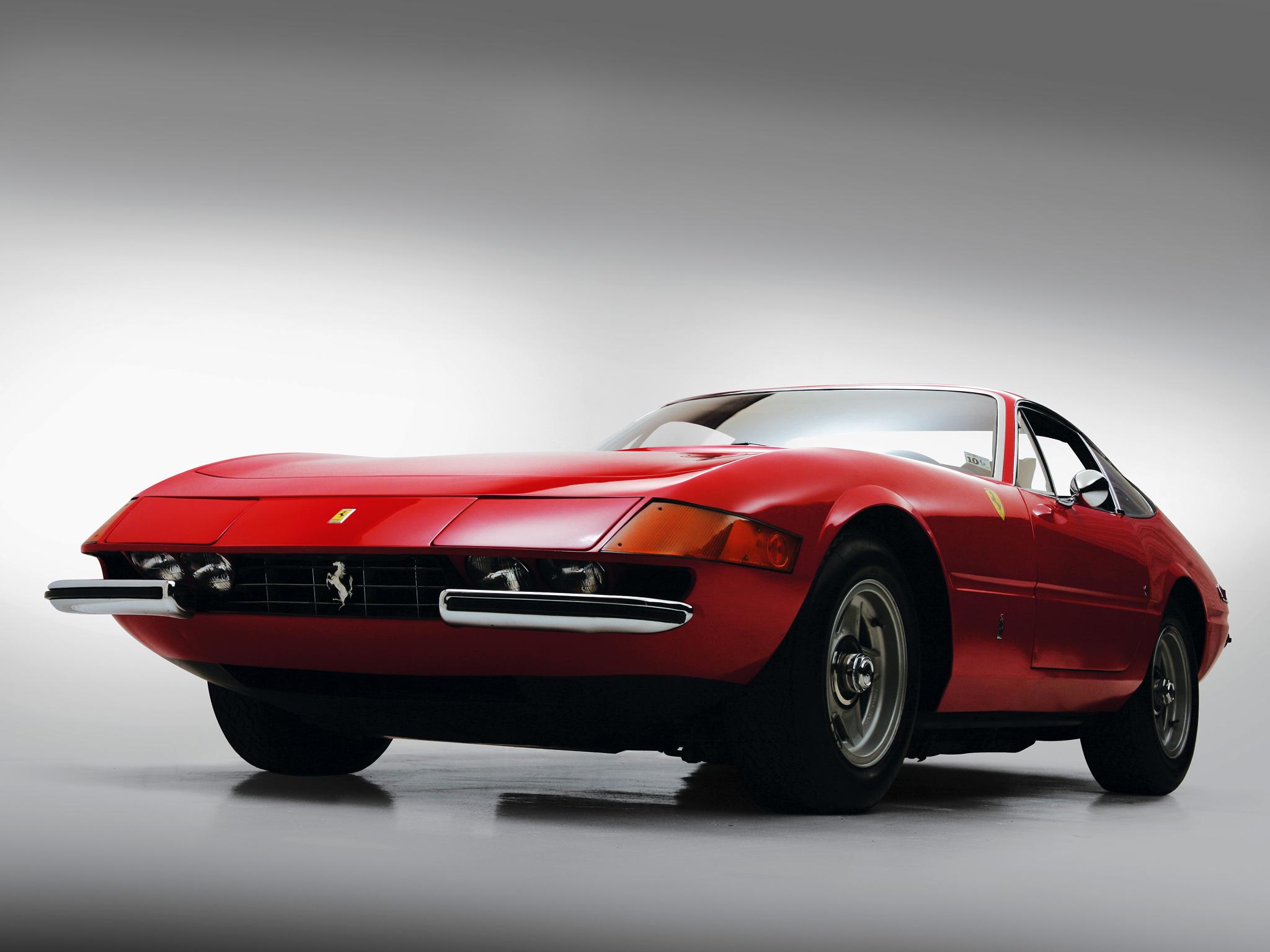 Car Wallpaper >> 1971 Ferrari 365 GTB-4 Daytona US-spec supercar supercars g wallpaper | 2048x1536 | 134862 ...
