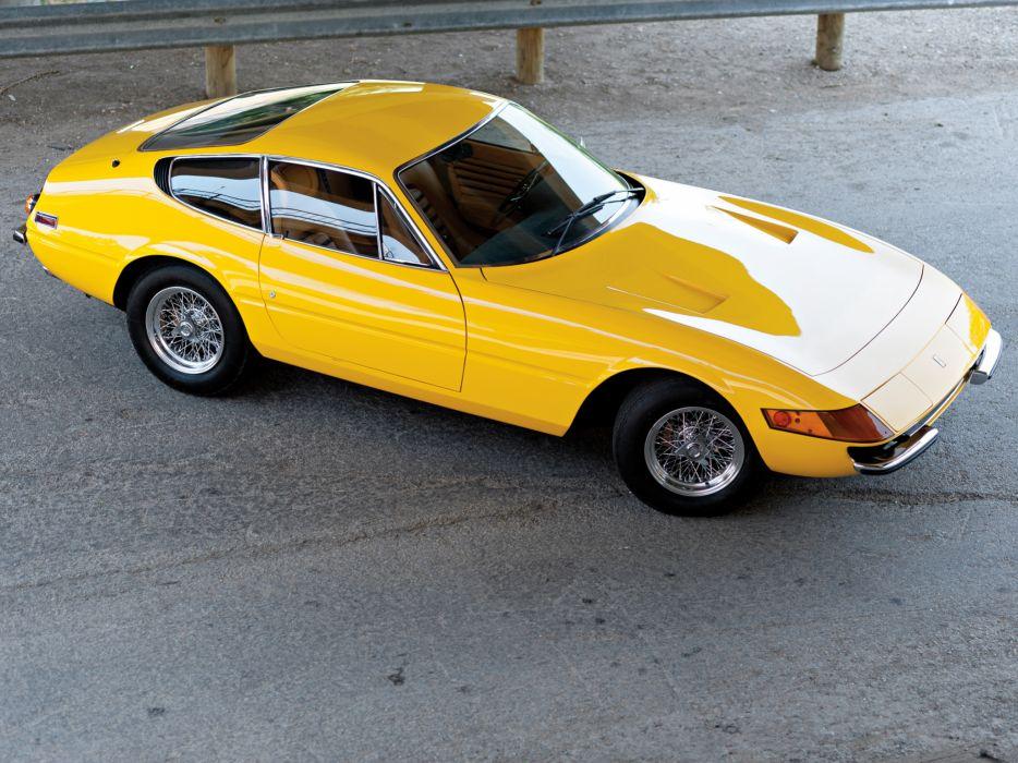 1971 Ferrari 365 GTB-4 Daytona US-spec supercar supercars  gt wallpaper