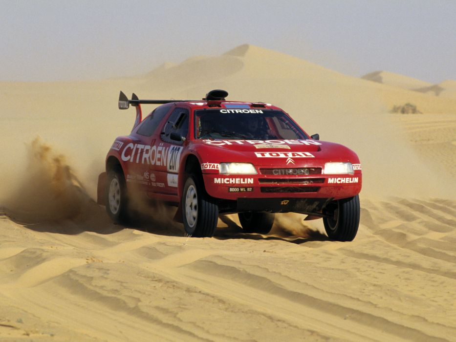 1993 Citroen Z-X Rally Raid offroad race racing f wallpaper