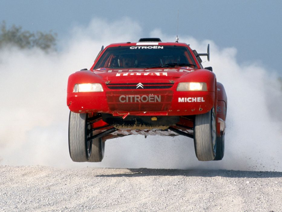 1993 Citroen Z-X Rally Raid offroad race racing wallpaper
