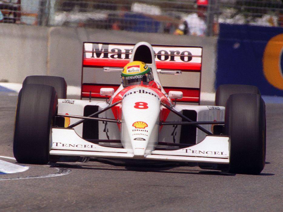 1993 McLaren Ford MP4-8 formula one f-1 race racing   g wallpaper