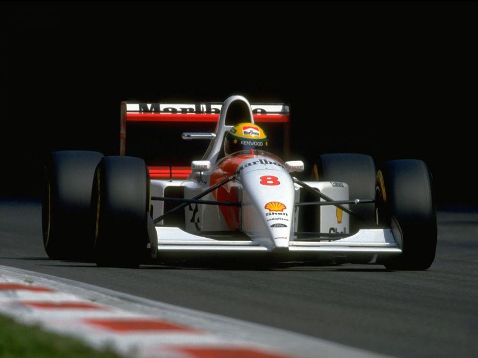 1993 McLaren Ford MP4-8 formula one f-1 race racing r wallpaper