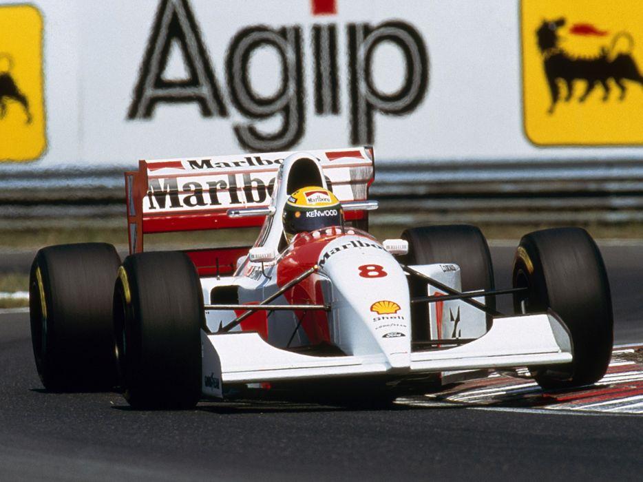 1993 McLaren Ford MP4-8 formula one f-1 race racing  h wallpaper