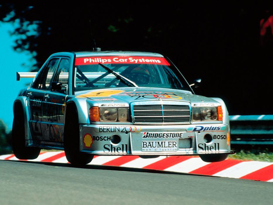 1993 Mercedes Benz AMG 190 Evolution I-I DTM W201 race racing   gs wallpaper