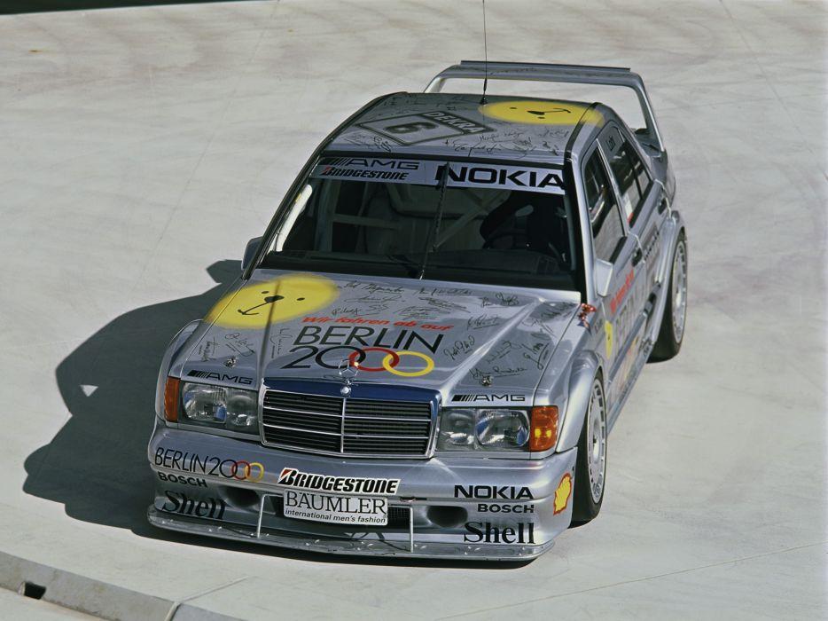1993 Mercedes Benz AMG 190 Evolution I-I DTM W201 race racing   g wallpaper