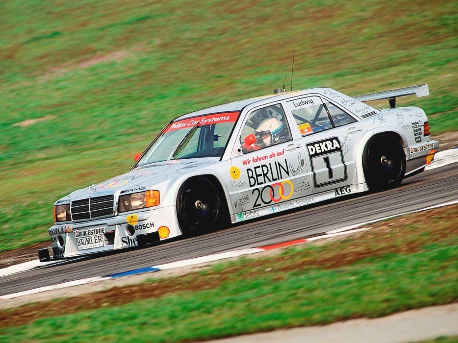 1993 Mercedes Benz AMG 190 Evolution I-I DTM W201 race racing wallpaper