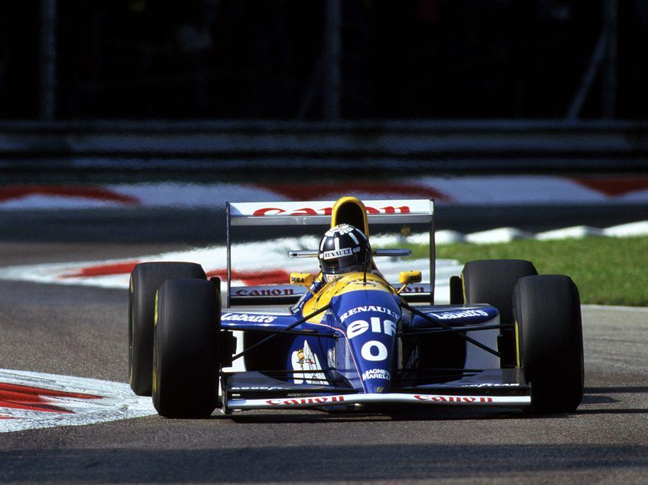 1993 Williams FW15C formula one f-1 race racing   fd wallpaper
