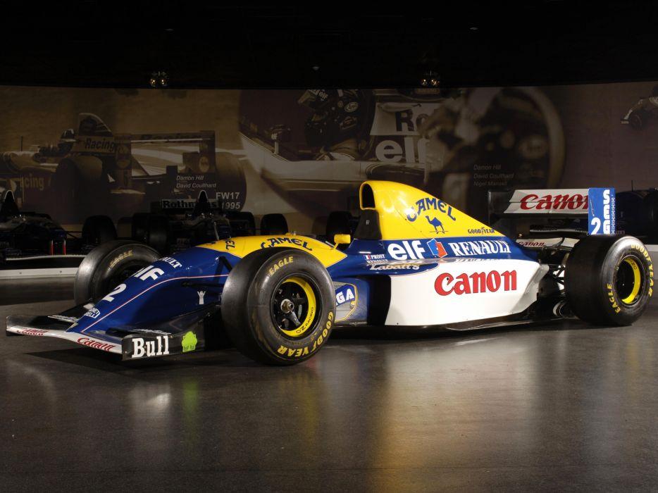 1993 Williams FW15C formula one f-1 race racing   fs wallpaper