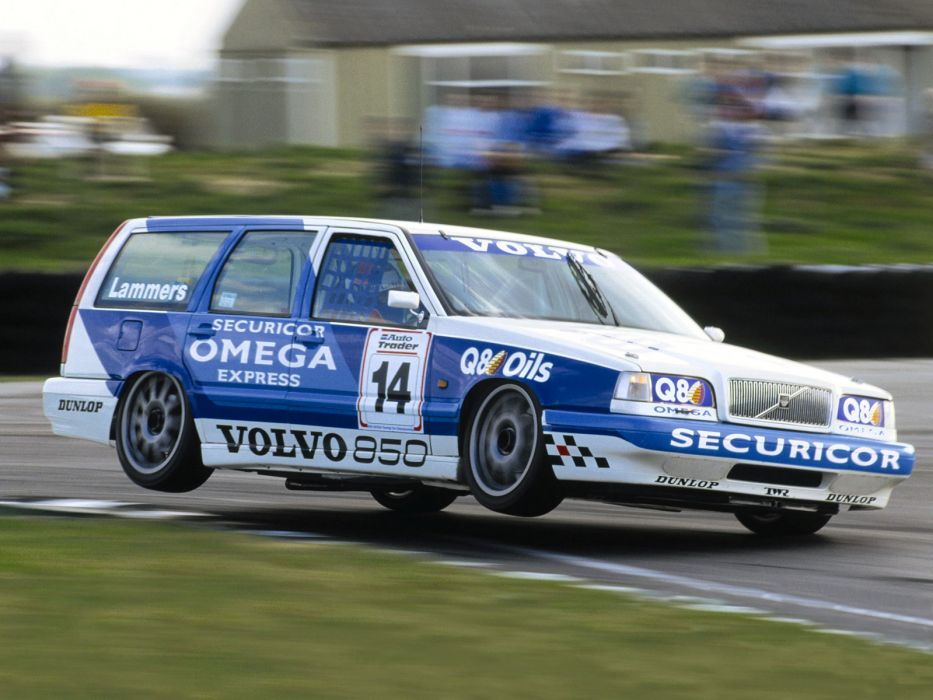 1994 TWR Volvo 850 Kombi BTCC race racing stationwagon wallpaper