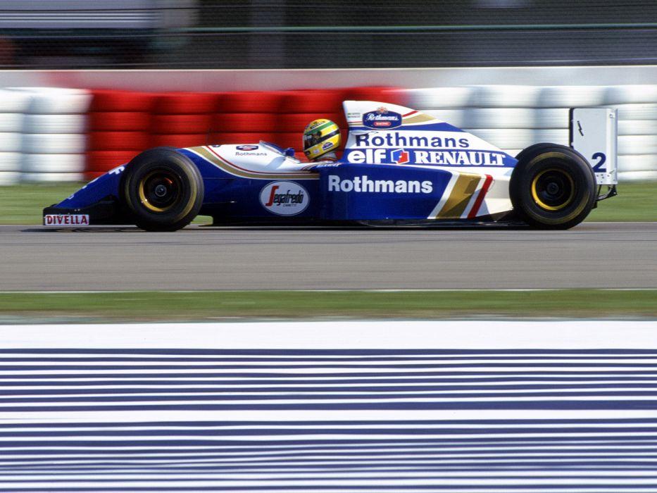 1994 Williams FW16 formula one f-1 race racing    d wallpaper