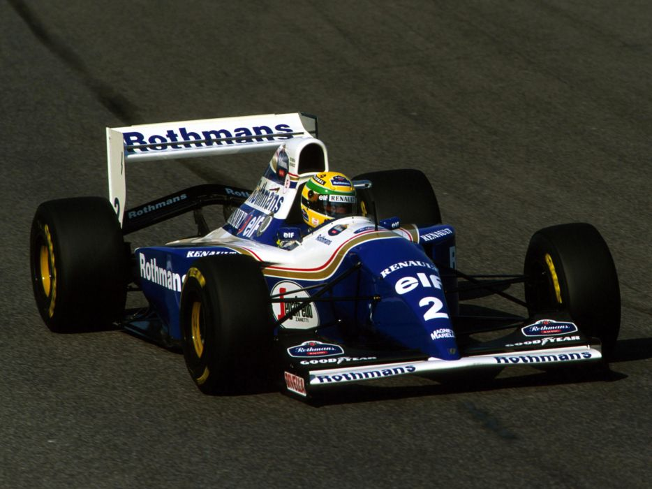 1994 Williams FW16 formula one f-1 race racing   tg wallpaper
