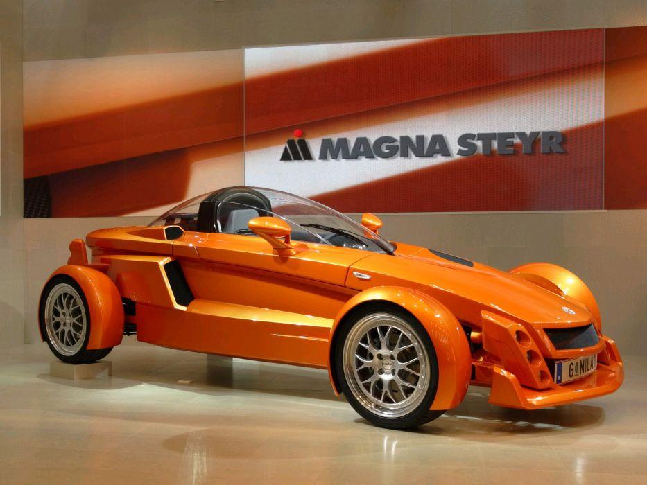 2005 Magna Steyr MILA Concept supercar  f wallpaper