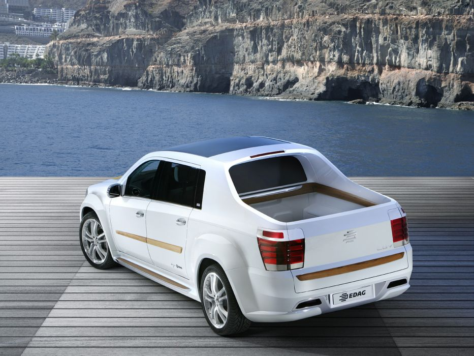 2007 Edag Luv Concept Suv Pickup Truck D Wallpaper