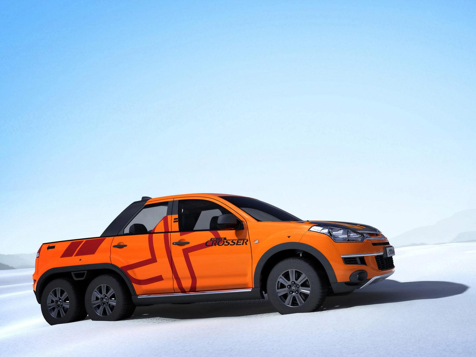 Sbarro Citroen Cruise Crosser Suv Pickup Truck Concept S