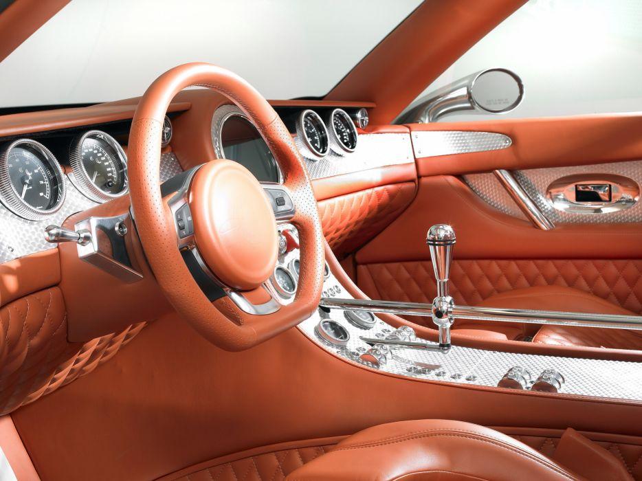 2007 Spyker D12 Peking-to-Paris Concept supercar interior    t wallpaper