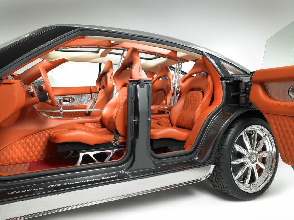 2007 Spyker D12 Peking-to-Paris Concept supercar interior wallpaper