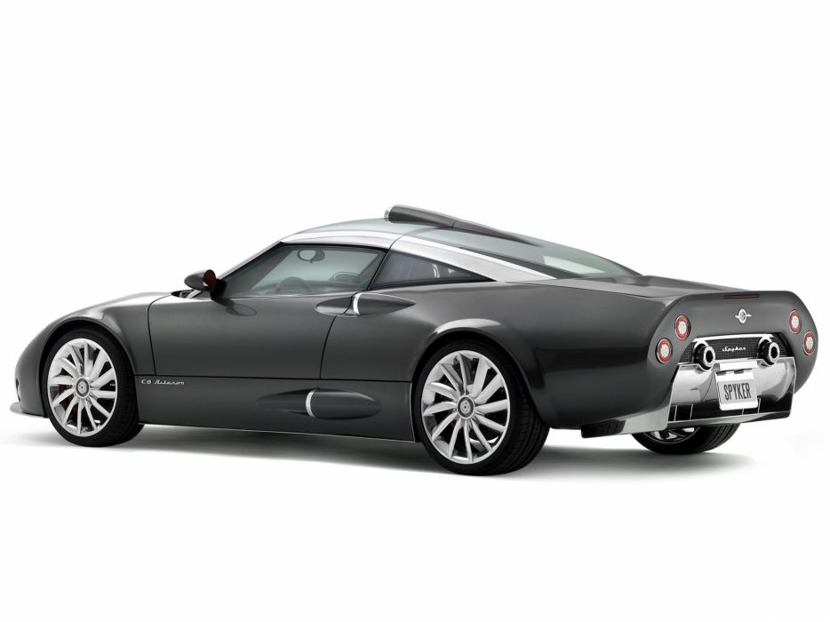 2008 Spyker C8 Aileron supercar fs wallpaper